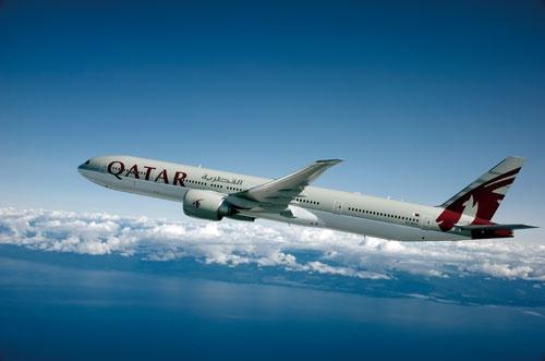 中東のカタール航空が国際線の評価が最も高かった