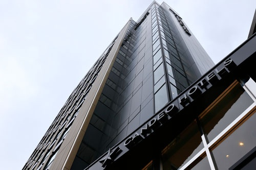 ビジネスホテル部門でトップのカンデオホテルズ(写真:竹井俊晴)