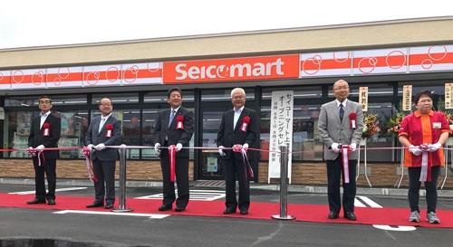 "<span class=""fontBold"">8月1日、紋別市に開業したセイコーマート上渚滑店。</span>"