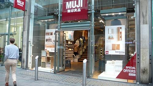すでに海外店舗数が国内の店舗数を抜いている(英ロンドンの店舗)