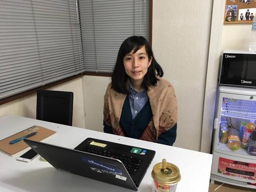 スキャンマンの久保田ゆみえ氏はクラウドをこなし1人で総務業務をこなす