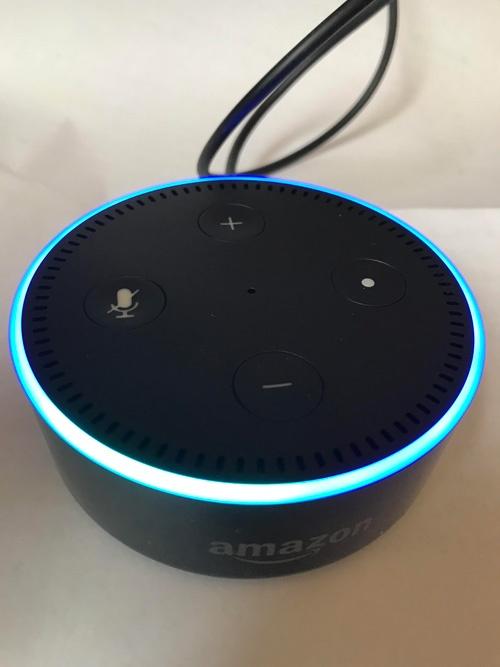1カ月以上待ってようやく届いた、アマゾンのスマートスピーカー「Echo Dot」。情報収集やエンターテイメントの再生など、筆者の生活はどう変わったか。