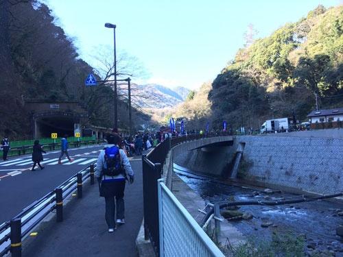 いざ山へ!早川付近の映像は必見