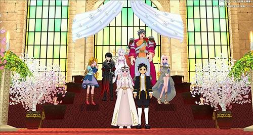 オンラインゲーム「マビノギ」での結婚式。現実での恋愛に発展することも多い