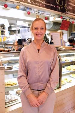 現在はベジタリアンのヴァネッサさんだが、昔はミンス&チーズパイが一番好きだったという。いまはベジタリアンのパイも多く、店でも食べられる