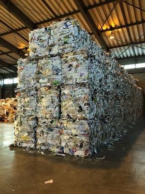 横浜市資源リサイクル事業協同組合が保管・輸出する質の高いミックス紙