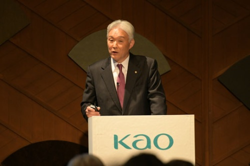 「研究資産の出し方を大変換する」と話す花王の澤田道隆社長