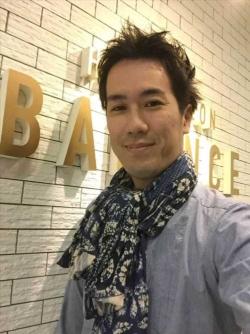 岡山県倉敷市で美容室を運営するBALANCE.の才野社長