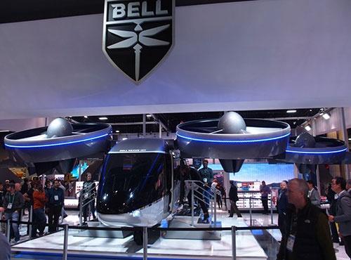 ベルのeVTOL機「Bell Nexus 4EX」