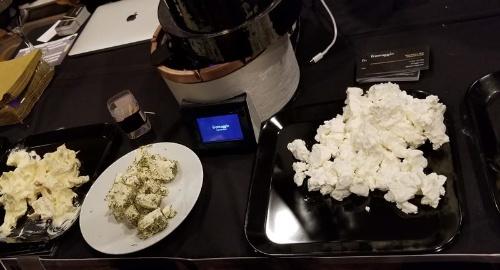 米フロマッジオの家庭用のチーズ製造器