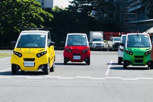 FOMMがタイで量産を始める電気自動車(EV)「FOMM ONE(フォム ワン)」
