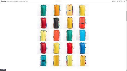 コトパクシの看板商品「Del Dia」シリーズ