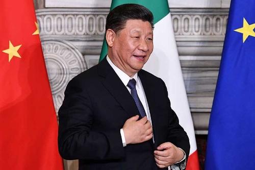 中国の習近平国家主席は欧州を歴訪し、イタリアを経済圏構想「一帯一路」のメンバーに引き入れた(写真:AFP/アフロ)