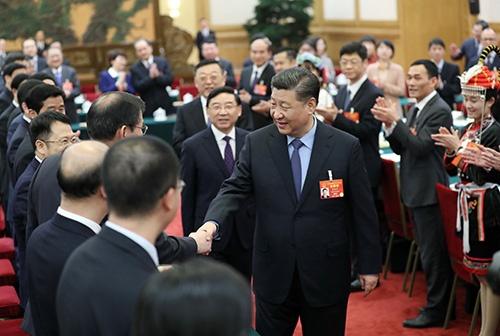 米国政府の関税引き上げに習近平国家主席はどう対応するか(写真:Sipa USA/amanaimages)