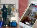 アマゾンとウォルマートが配送戦争、生鮮食品を冷蔵庫まで