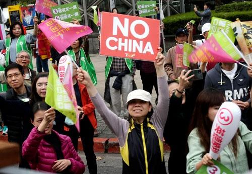 台湾総統選では、「一国二制度の台湾版」を話し合うよう呼びかけた中国の姿勢が大きく影響した(写真:AP/アフロ)