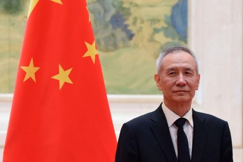 中国で経済政策のカギを握る劉鶴副首相(写真:AFP/アフロ)