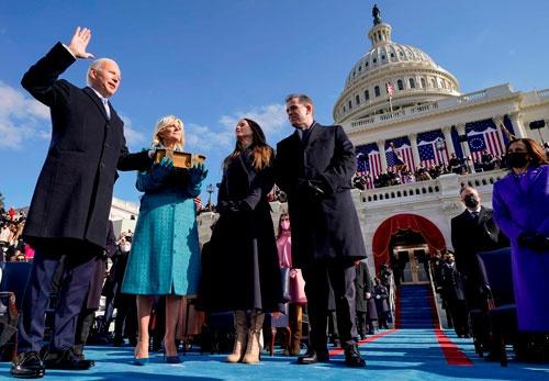 バイデン大統領は、対中政策における解をみつけることができるか(写真:AFP/アフロ)