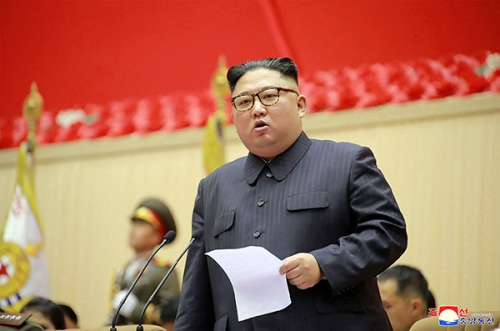 選挙を経ない国務委員長の存在は、「絶対君主制」と言われても仕方ない(写真=KNS/KCNA/AFP/アフロ)