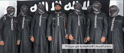 "ISが発表資料に掲載した""実行犯""たちの写真(写真:AAMAQ NEWS AGENCY/AFP/アフロ)"