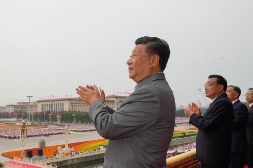 習近平総書記の党内基盤は盤石なのだろうか(写真:新華社/アフロ)