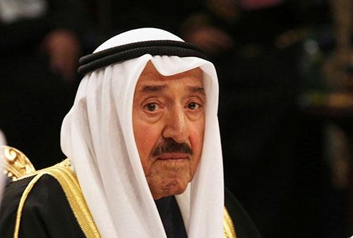 クウェートのサバハ首長が死去(写真:AP/アフロ)