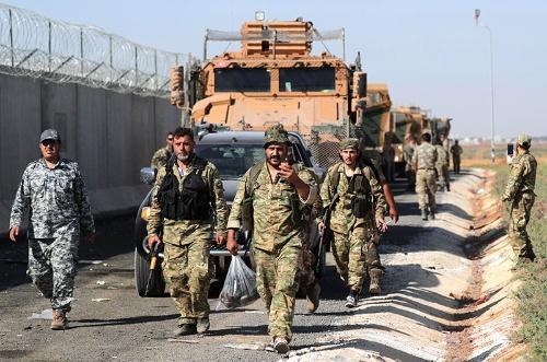 トルコ、シリア北部に軍事作戦 国境越え攻撃 (写真:ロイター/アフロ)