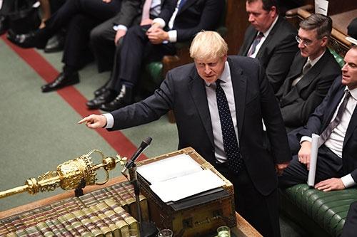 (写真:Jessica Taylor/UK Parliament/ロイター/アフロ)