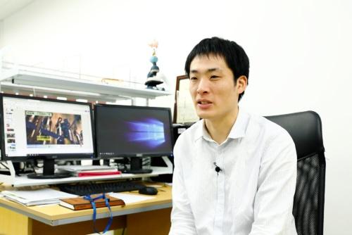 「日経ビジネスRaise賞」のベスト5に入選した、インテグリカルチャーの羽生雄毅代表(写真:竹井俊晴)