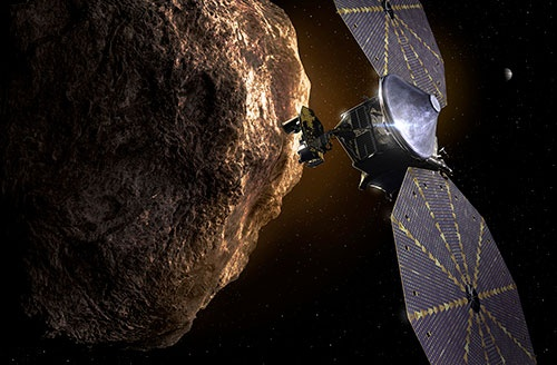 NASAのトロヤ群小惑星探査機「ルーシー」(画像:SwRI)