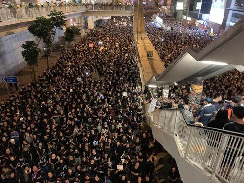 香港の抗議活動は8カ月目に突入した