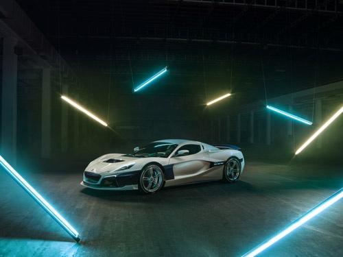 リマック・アウトモビリは2009年にクロアチアで設立されたEVベンチャー。スーパースポーツカーのブガッティに匹敵するような性能のEVを生み出している。ポルシェは昨年、同社の株式の10%を取得した。(写真:Rimac Automobili)