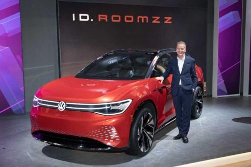 フォルクスワーゲンの電気自動車「ID.」シリーズの大型SUV「ID.ROOMZZ(アイディ ルームズ)」