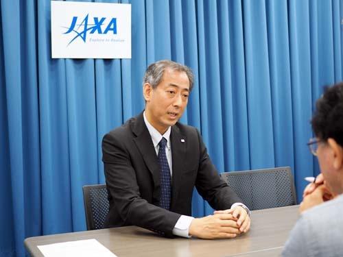 山川宏・宇宙航空研究開発機構(JAXA)理事長