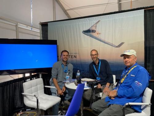 Horten Aircraftの人達。