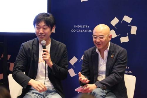 予防医学博士の石川善樹氏(写真左)