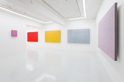 朴栖甫「Empty the Mind: The Art of Park Seo-Bo」展覧会風景(東京画廊+BTAP 2016年)