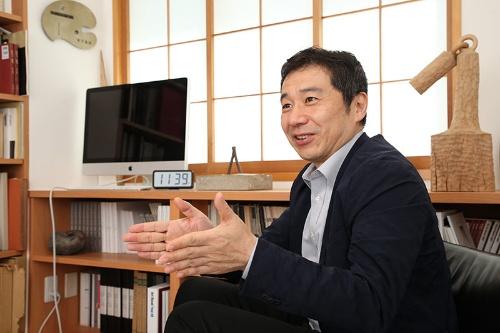 田中靖浩氏(写真:陶山 勉)