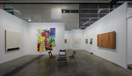 アートバーゼル (香港)展示風景(2019年、東京画廊+BTAP)