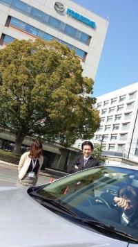 広島空港からマツダの本社へマーチのレンタカーで行ってしまい、フェルさんにさんざんネタにされる。あ、このころからすでにハゲとるな、私。