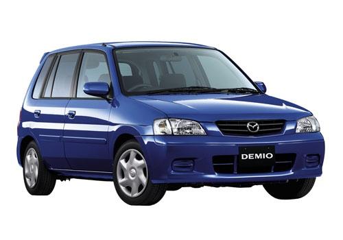 初代デミオ。1996年登場。