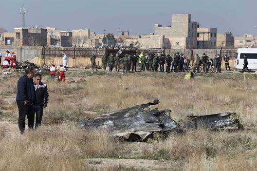 イラン政府はウクライナ航空の旅客機を誤射したと発表した(写真:ZUMA Press/アフロ)