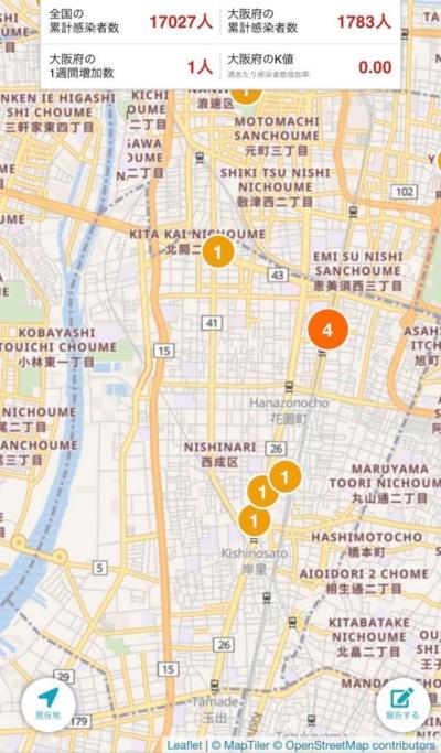 NewsDigestで公開されているマップ(6月5日時点)