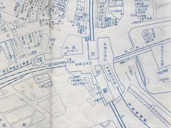 渋谷 駅 構内 図