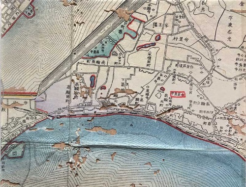 明治28年(1895年)東京全図