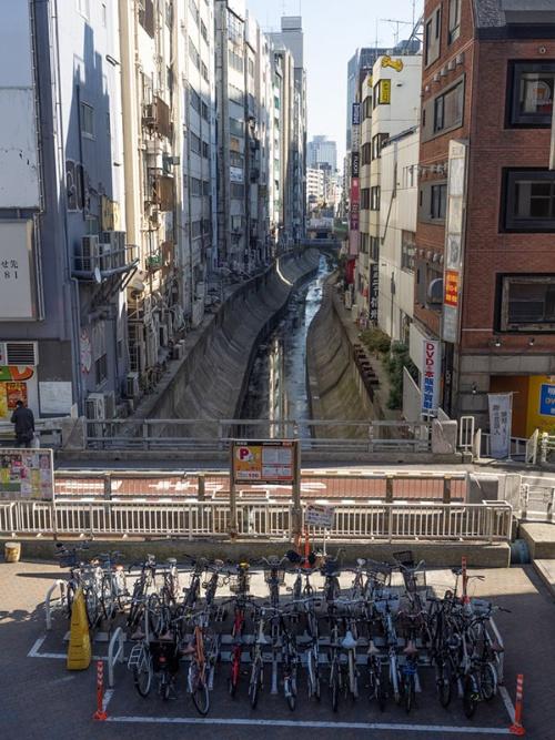 2014年の渋谷川と稲荷橋(写真:荻窪圭)