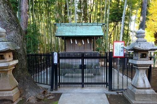 千駄ヶ谷大神宮は現在、鳩森八幡神社の境内社として残っている