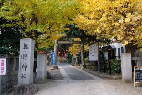 青山熊野神社。紀伊徳川家の屋敷(今の赤坂御所)にあったものが、1644年、町民の要請で現在地に遷座した。紀伊徳川家なので熊野神社なのだ