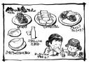 核ミサイルが降る日、日本人は誰と何を食べたいか