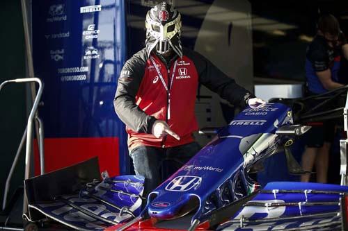トロロッソ・ホンダのダニール・クビアトも10位に入賞しました。今年は両チームとも期待できそうです。